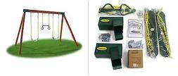 Eastern Jungle Gym DIY Swing Set Hardware Kit with Easy 1-2-