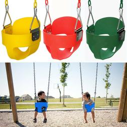 Bucket Swing Set for Toddler Baby Safety Seat Playground Out