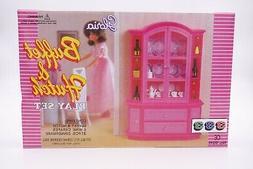 Gloria Buffet & Hutch Play Set, China set  doll house furnit