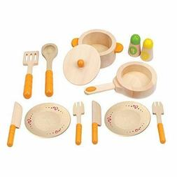 Hape Gourmet Play Kitchen Starter Accessories Wooden Play Se