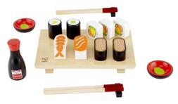 Hape Sushi Selection Kid's Wooden Play Kitchen Food Set and