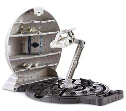 Hot Wheels Star Wars Death Star Portable Play Case with 4 St