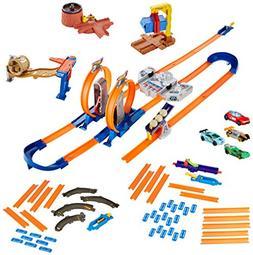 Hot Wheels Track Builder System Mega Set