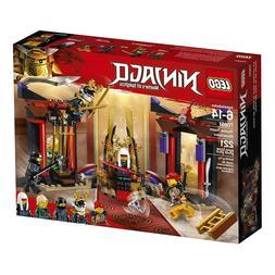 LEGO NINJAGO Masters of Spinjitzu: Throne Room Showdown 7065