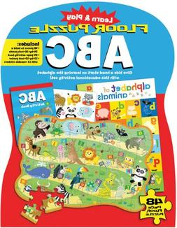 Learn and Play : Floor Puzzle ABC Give Kids a Head Start on