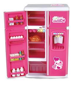 Liberty Imports Dream Kitchen Mini Refrigerator Pink Toy Fri