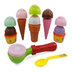 Liberty Imports Ice Cream Party Fast Food Cooking & Cutting