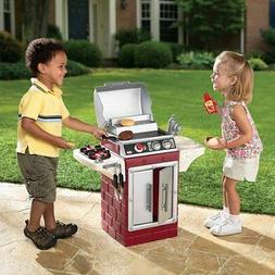 Little Tikes Play Pretend Kids Backyard Barbecue Get Out 'n'