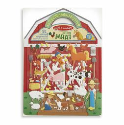 Melissa & Doug On the Farm Puffy Sticker Play Set, Activity