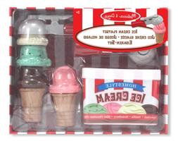 Melissa & Doug Scoop and Stack Ice Cream Cone Magnetic Prete