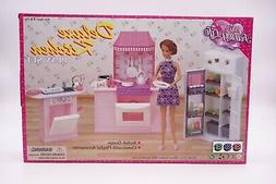 "My Fancy Life  Deluxe Kitchen Play Set  for 11.5"" dolls"