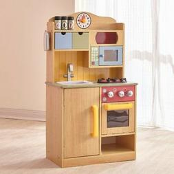 Teamson Kids - Little Chef Wooden Toy Play Kitchen with Acce