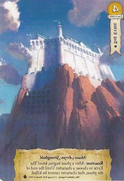 A Game of Thrones LCG Second Edition The Eyrie Alternate Art