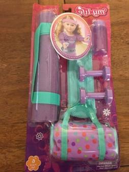 My Life As Accessories Play Set Yoga 18 Inch Dolls Playset A
