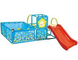 Active Play Set with 50 Balls Colourful Gym Playground Playp