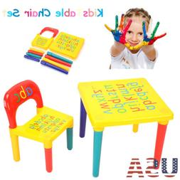 Activity Kids Table And Chair Set Furniture Toddler Child To