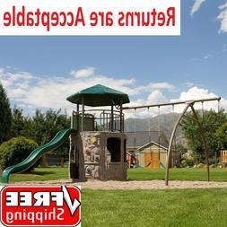 Lifetime Adventure Tower Playset Activities For Children FRE