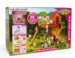 Calico Critters Adventure Tree House Gift Set - 3 Critters a
