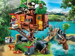 Adventure Tree House Play Set Playmobil Toys For Kids Childr