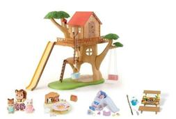 Calico Critters Adventure Treehouse Gift Set Miniature House