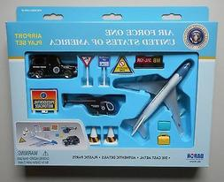 AIR FORCE ONE AIRPLANE AIRPORT PLAYSET TRUCK SIGNS ETC DARON