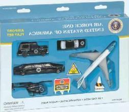 Air Force One Die Cast Playset  830715057316