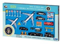 Daron Air Force USA One 22 Piece Play Set Die-Cast VehicleAu