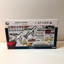 Airport Play Set Delta Airlines Large 25 Pieces RT4992