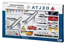 Airport Play Set Delta Airlines Large 25 Pieces