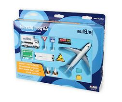 "Airport Play Set Jet Blue ""12 Pieces"""