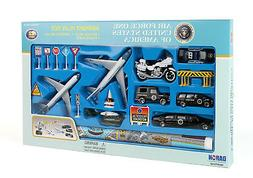 Airport Play Set US Air Force One W/PlayMat Large 22 Pieces