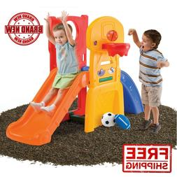 Step2 All Star Sports Climber & Slide for Toddlers Indoor Ou