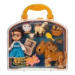 Disney Animators Collection Belle Mini Doll Play Set 5 Inch