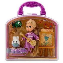 Disney Animators Collection Rapunzel Mini Doll Play Set 5 In