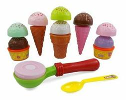 Assemble Your Own Colorful Ice Cream Party Play Set for Kids