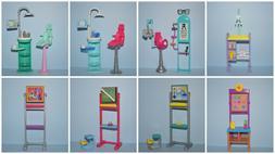 Assorted Lot of Teacher & Doctor Playset BARBIR Diorama Acce