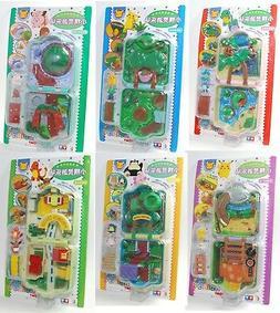 Auldey tomy Pokemon Pocket Monsters Mini Playset CHIBI NINTE