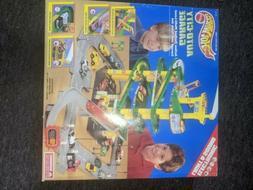Hot Wheels AUTO CITY GARAGE Play Set 1995 Mattel Vintage Hot