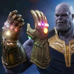 2019 Figure & LED Light Thanos Infinity Gauntlet Marvel Lege