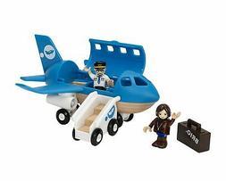 b33306 airplane boarding playset
