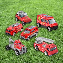 Baby 6Pcs Assorted Small Size Truck And Race Car <font><b>To