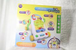 Baby Activity Walker Kids Interactive Toy Jr Explorers 2-in-