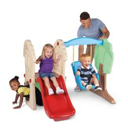 Baby Swing Playset Toddler Jungle Gym Playground Slide Playh