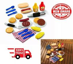 Little Tikes Backyard Barbeque Grillin Goodies Kids Outdoor