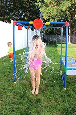 Backyard Fun Water Park Buckets Outdoor Kids Waterpark Garde