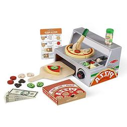Melissa Doug Top And Bake Wooden Pizza