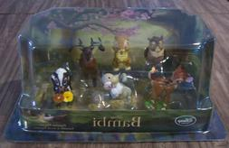 Disney Store BAMBI Figures Playset NEW Free Ship