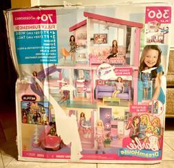 Barbie 360 Play DreamHouse Doll House Playset with 70+ Toys