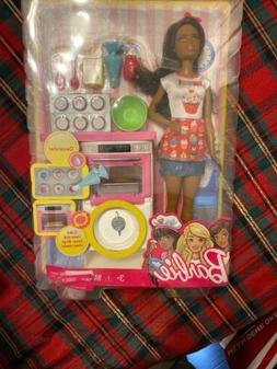 Mattel Barbie Baker Play Set  Doll &  Accessories NIB