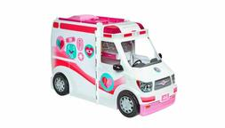 Barbie Care Clinic Ambulance Vehicle 2~in~1 Fun Playset